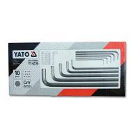 Zestaw kluczy imbusowych Duże XXL 10szt. 3-17mm
