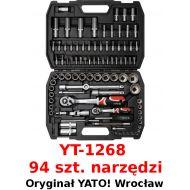 """Zestaw narzędziowy 1/2"""" 1/4"""" 10-32mm 94cz."""