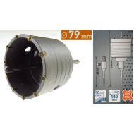 Otwornica 79mm, SDS PLUS, Frez do betonu