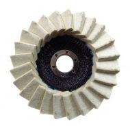 Tarcza, lamelka filcowa polerska 125mm (gruba)